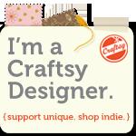 I'm a Craftsy Designer.
